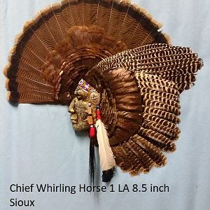 Chief Whirling Horse 1 LA 8.5 Inch Sioux