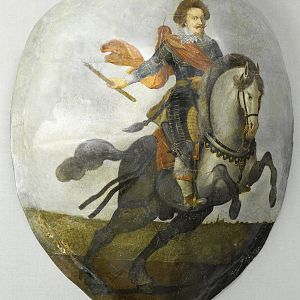NG-NM-2970 Equestrian Portrait of Frederick Henry, anonymous, in or after 1631