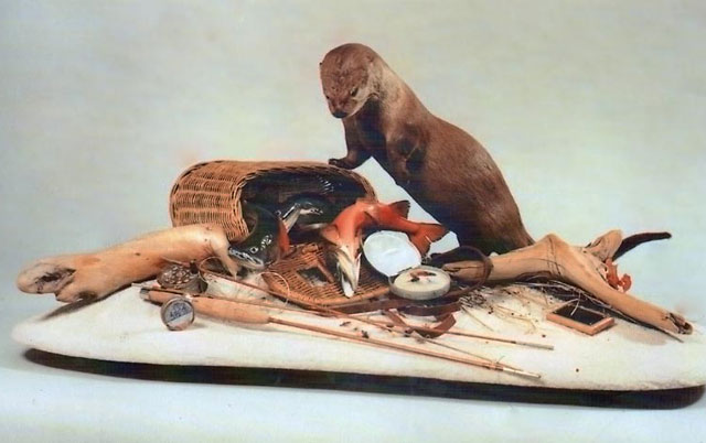 This otter scene by Jim Hall was on the cover of the second issue of Breakthrough.