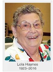Lola Haynes