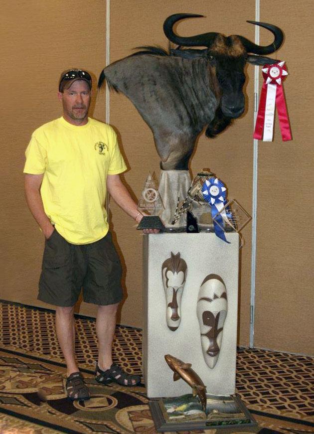 Troy Hall's Blue Wildebeest