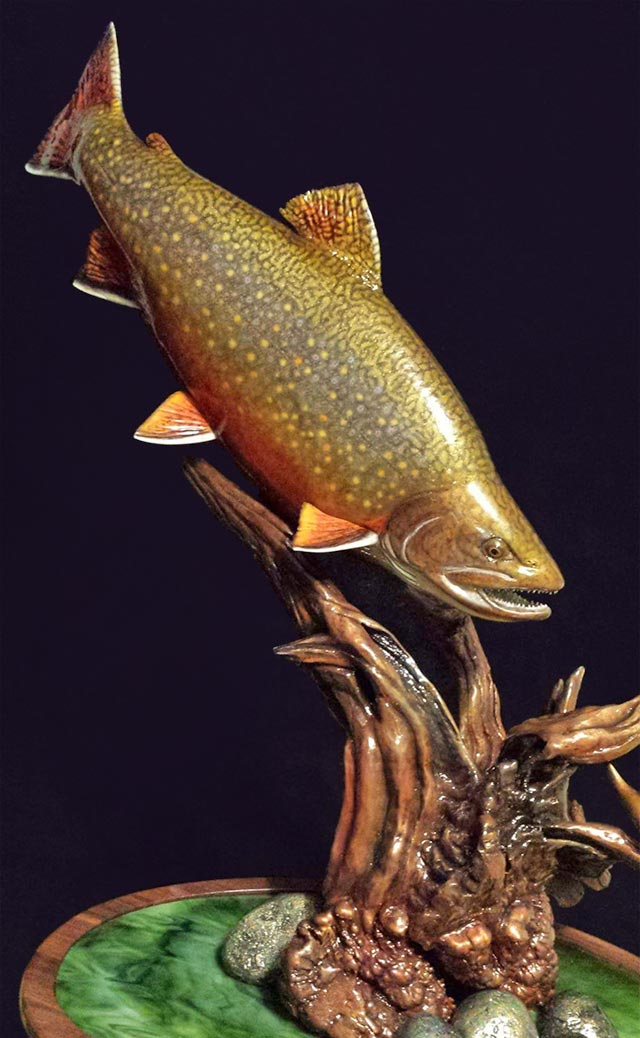 Mickey Bowman's Brook Trout