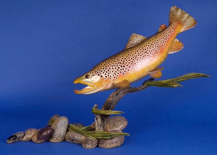 Fish carving competition world taxidermy