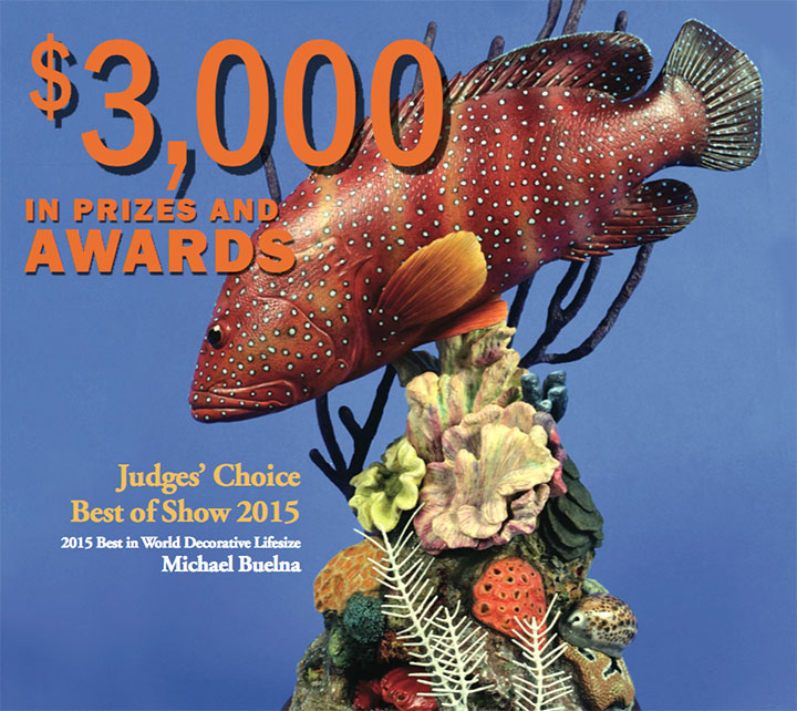 Fish Carving Competition » World Taxidermy & Fish Carving Championships